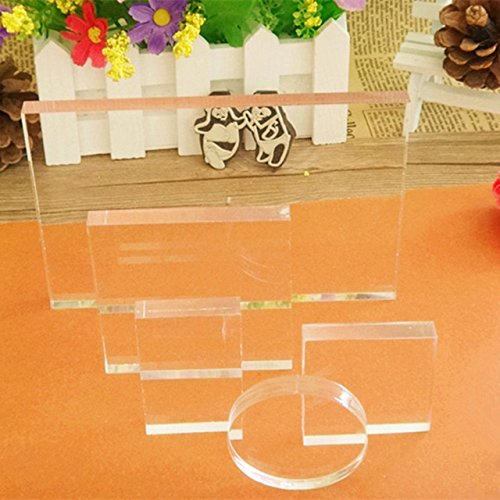 Small Clear Acrylic Stamp (WYSE Acrylic Stamp Block Set)