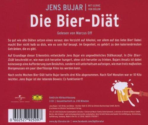 Die Bier Diat Amazon De Jens Bujar Ulrike Von Bulow Bucher