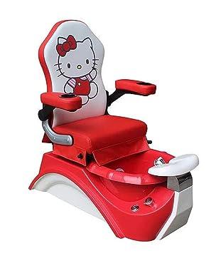 Amazon.com: Silla de pedicura para niños, color rojo, para ...
