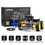 OSOYOO Robot Car Starter Kit for Arduino UNO R3 | STEM Remote Controlled Educational Motorized Robotics for Building Programming Learning How to Code | IOT Mechanical DIY Coding for Kids Teens Adults: more info