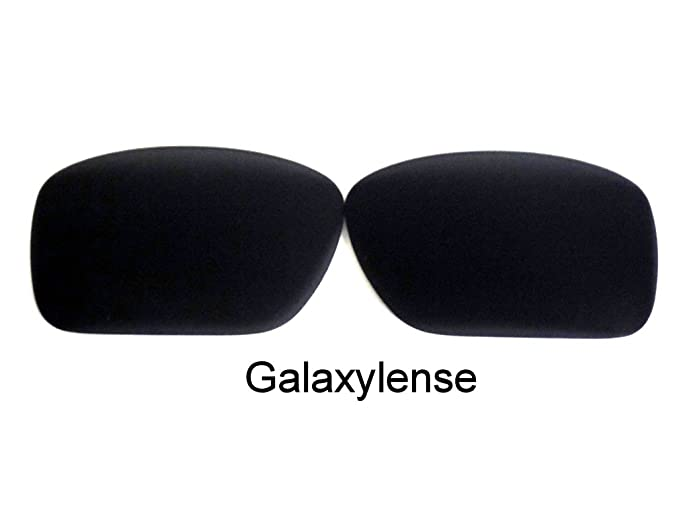 aaddb54500 Image Unavailable. Image not available for. Color  Galaxy Replacement Lenses  For Oakley Turbine Black Polarized 100% UVAB