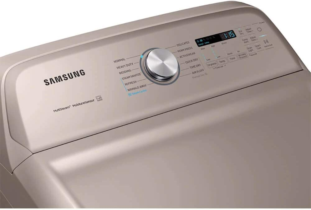 Samsung 7.4 Cu Champagne Electric Dryer Ft