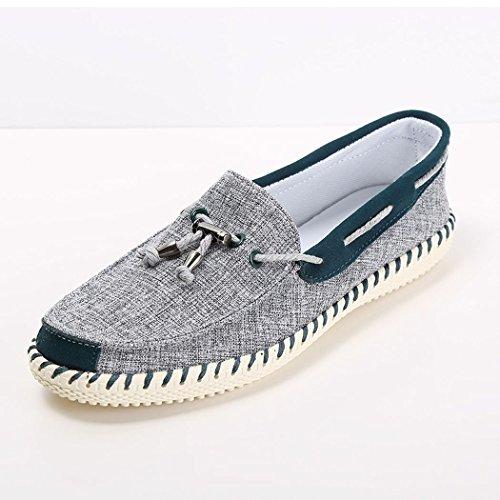 hydne-mens-fashionable-comfortable-antiskid-lace-up-fancy-vintage-shoes43-m-eu-95-dm-usgreen