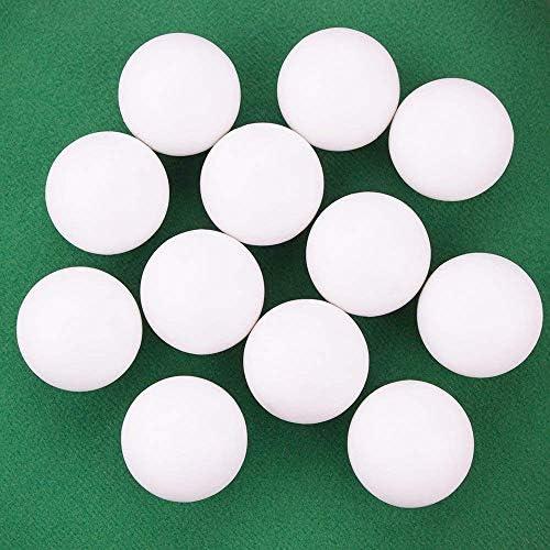 BILLARES Y DARDOS CAMARA Juego de 9 Bolas de futbolín de 34mm de plástico Blanco Pelotas de futbolin de Mesa: Amazon.es: Juguetes y juegos