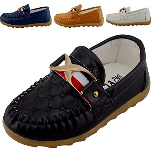 dadawen-boys-girls-classic-slip-on-loafers-oxford-flat-shoes