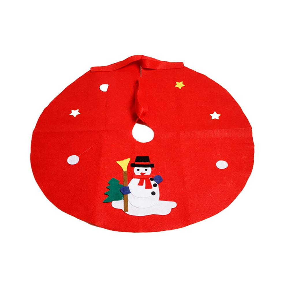 Bluelans Christmas Decorations, Christmas Tree Floor Mat Santa Snowman Ground Cover Apron Party Xmas Decoration Xmas Gifts Xmas Stocking Fillers