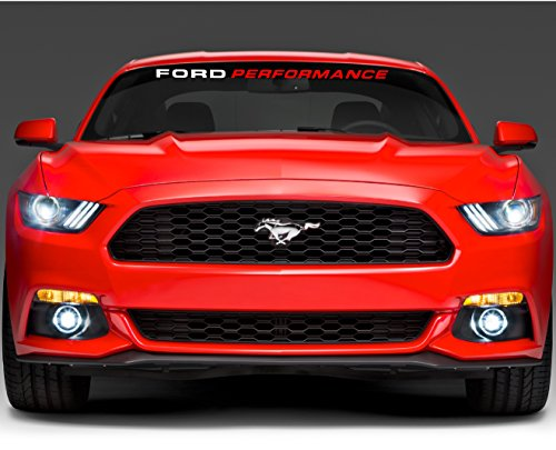 FORD PERFORMANCE WINDSHIELD DECAL 44