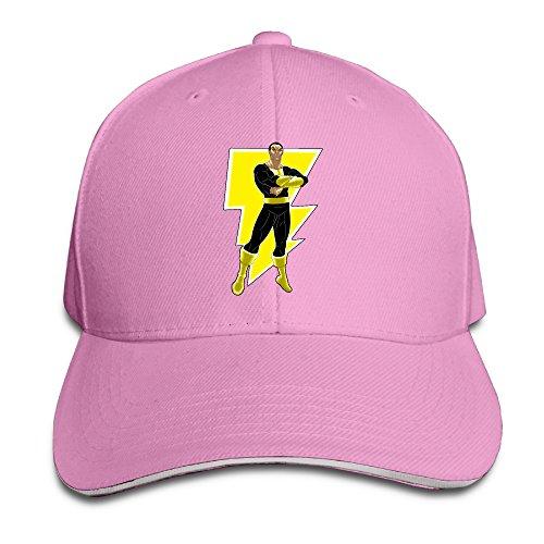 Black Adam Justice Society Brim Hats Sandwich Peaked Caps