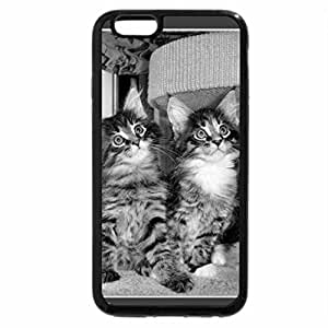 iPhone 6S Case, iPhone 6 Case (Black & White) - Brothers & Sisters