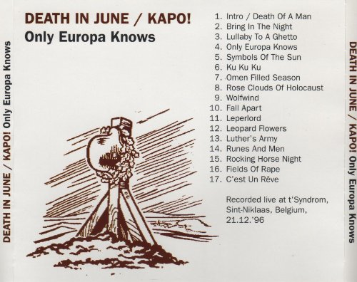 Death In June Kapo Richard Leviathan Douglas Pearce Only