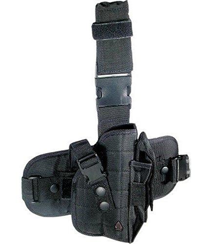 UTG Special Operations Universal Tactical Black Leg Holster - Gen II (Gun Leg Holster With Belt)