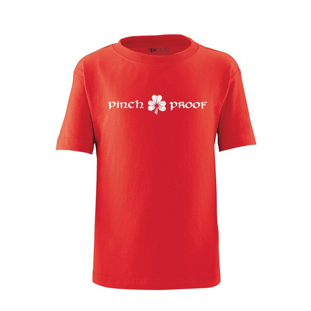 Apericots Funny Pinch Proof Shamrock Irish Saint Patricks Day Cute Toddler Shirt