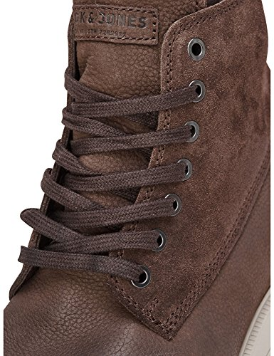 Jack & Jones Mens Mens Leather Brown Boots 100% Leather Braun