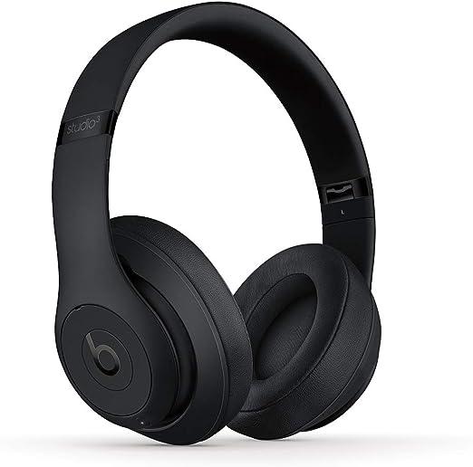 Beats Studio3 Wireless ワイヤレスノイズキャンセリングヘッドホン -Apple W1ヘッドフォンチップ、Class 1 Bluetooth、アクティブノイズキャンセリング機能、最長22時間の再生時間 - マットブラック