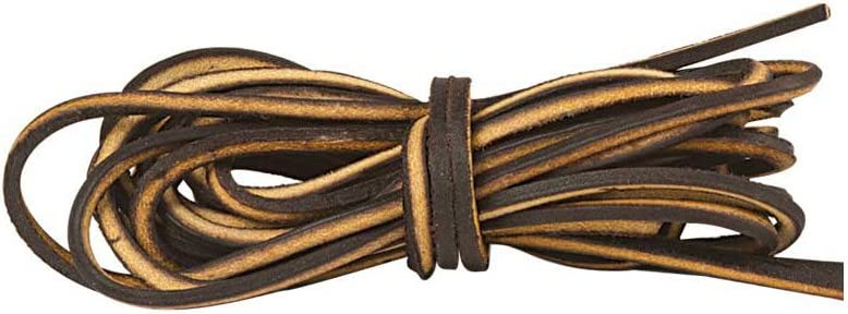 1.8 m Tandy Leather Logger Laces 72 Brown 5130-02