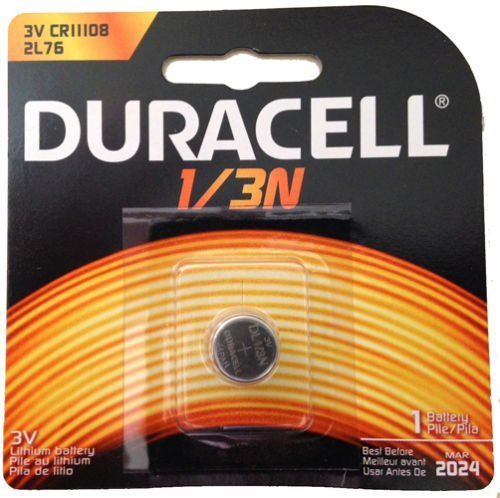 10 Pcs Duracell 2L76 CR1-3N DL1/3N 1/3N K58L 3V Lithium Battery (Dl 1 3n Battery)
