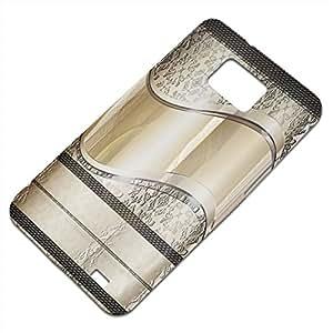 Opal 10005, Embossed Caso Carcasa Funda Duro Gel TPU Protección Case Cover, Diseño con Textura en Relieve para Samsung S2 i9100 i9200.