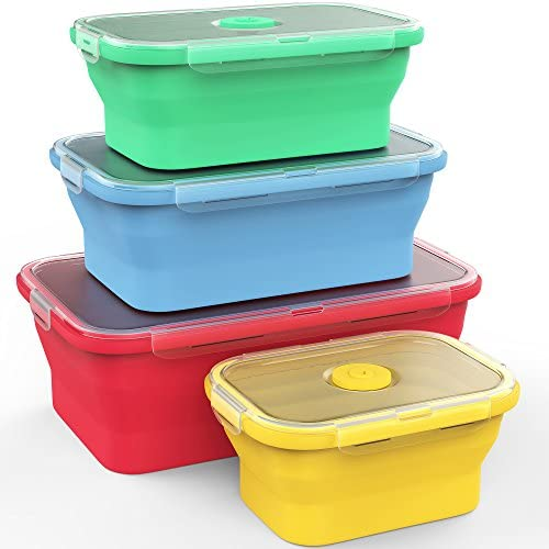 Vremi Silicone Storage Containers Airtight product image