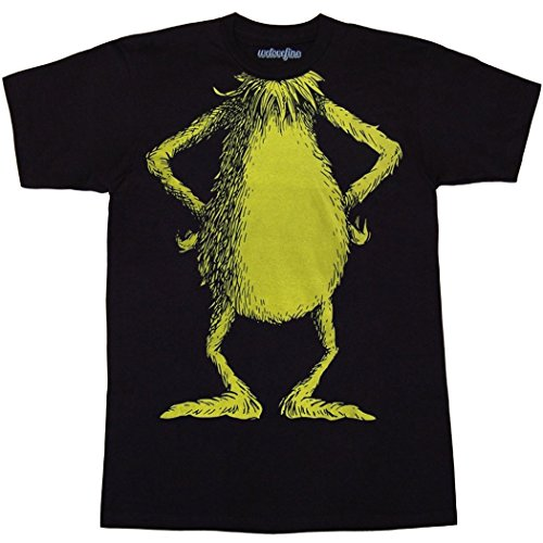 [Dr. Suess Grinch Costume T-Shirt-X-Large] (The Grinch Costumes)