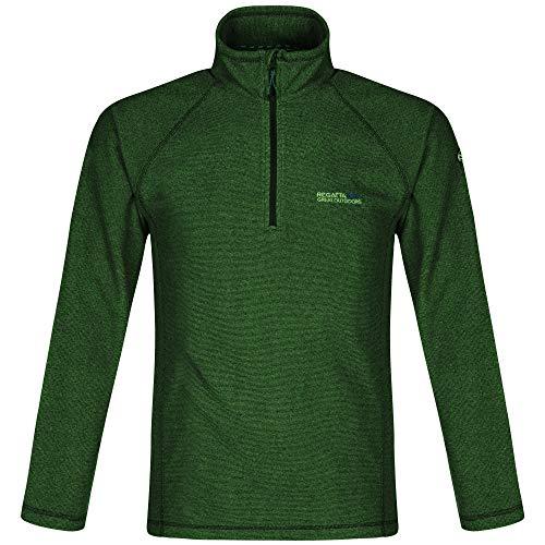 Regatta Montes Mens Lightweight Micro Half Zip Stripe Fleece Top Jacket Size