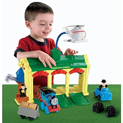 Thomas Friends Tidmouth Sheds from Fisher-Price