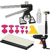 PDR Tools Paintless Dent Repair Tools Mini Lifter Dent Removal Kit Glue Puller Sets Tabs PDR Hot Melt Glue Gun PDR Glue Sticks Auto Body Repair Tools
