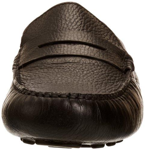 Chatham Marine Fowler - Mocasines de cuero para hombre Black