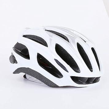 ZWL Casco Ciclismo Bicicleta De Carretera Ciclismo Casco De Seguridad Opcional,White