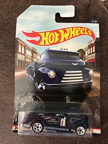 hot wheels blue mig rig 7 of 10 (Hot Rigs)
