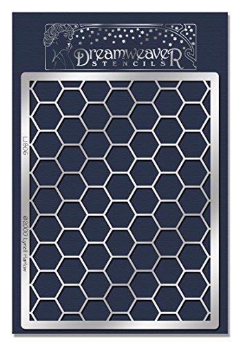 Stampendous Dreamweaver Metal Stencil, Honeycomb ()