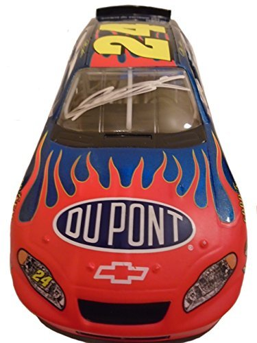 Nascar Jeff Gordon Autographed Hand Signed Dupont AP Action Racing 1:24 Scale Diecast Race Car with Proof Photo, Sprint Cup Series, - Racing Shop Ap