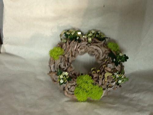 Deko Türkranz für das ganze Jahr geeignet von Floristen gefertigt Durchmesser ca. 40 cm