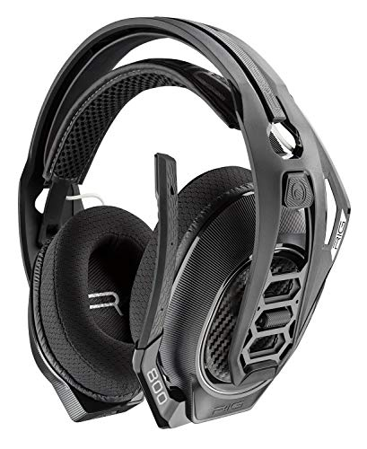 Plantronics Gaming Headset, RIG 800LX Wireless Gaming Headset for Xbox One with prepaid Dolby Atmos Activation Code Included (Renewed)