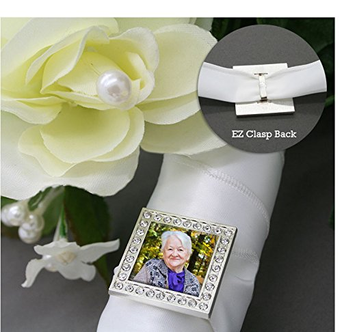 Square Picture Frame Charm - 3