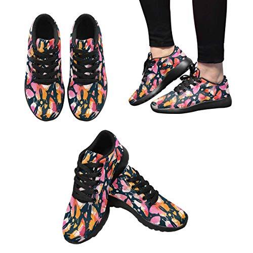 Running Design Women's Custom InterestPrint Sneaker 8 ERBgnqx