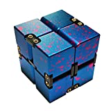Enfich Infinity Cube, Aluminum Fidget Toy for Office / Study Relax, Stress Relief or Reducing Anxiety / ADHD / Autism for Adult and Children (Camouflage)