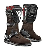 Sidi Trial Zero.1 Off Road Motorcycle Boots Brown Suede US9.5/EU43 (More Size Options)