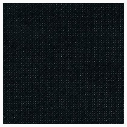 Zweigart 18ct Aida 18x21- Needlework Fabric - Black ()