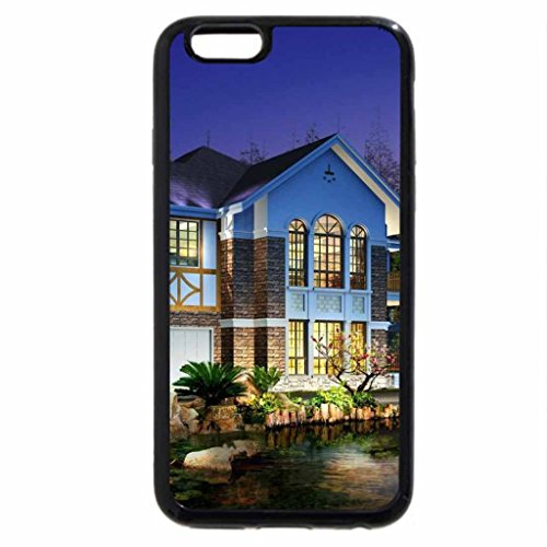 iPhone 6S / iPhone 6 Case (Black) 3d house