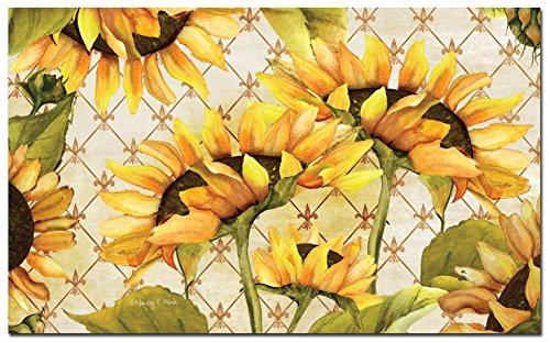 Counter Fatigue Floor Sunflowers Bloom