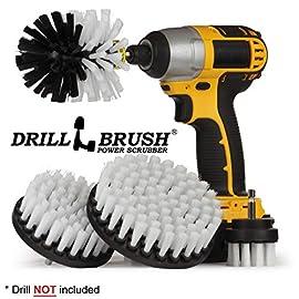 Drillbrush Power Scrub Drill Brush Cleaning Tool Attachment Kit