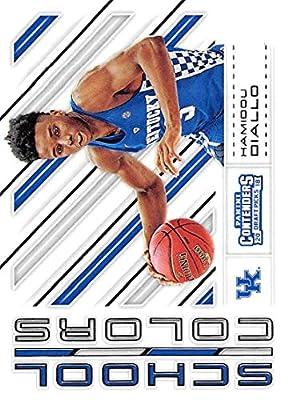 Basketball NBA 2018-19 Panini Contenders Draft Picks School Colors #26 Hamidou Diallo #26 NM+