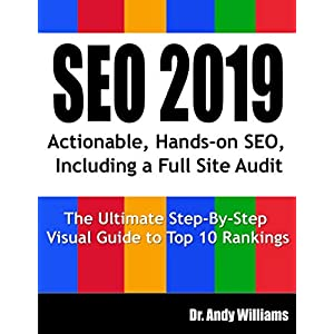 51 %2BV7T 1mL. SS300  - SEO 2019: Actionable, Hands-on SEO, Including a Full Site Audit (Webmaster Series)