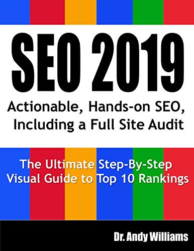 51 %2BV7T 1mL - SEO 2019: Actionable, Hands-on SEO, Including a Full Site Audit (Webmaster Series)