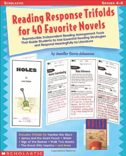 Download Reading Response Trifolds For 40 Favorite Novels PDF