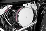 Arlen Ness 18-783 Chrome Big Sucker Stage II Air Filter Kit with Cover