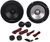 Rockville RVL6KIT 6.5'' 800Watt/Pair Component Car Audio Speakers Aluminum Cone