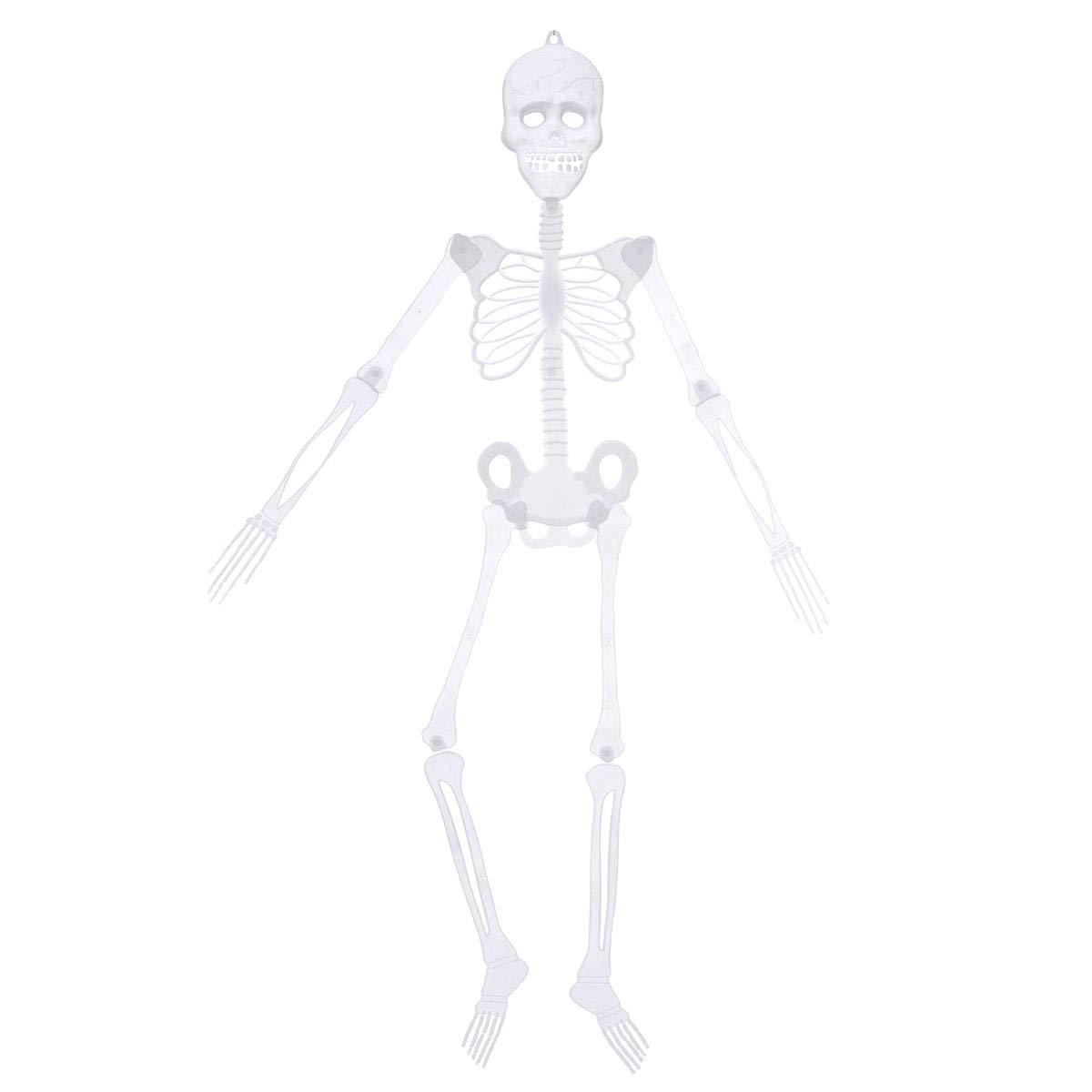 Halloween Luminou Human Skeleton Decoration Classroom Occasionally Adjustable - 1PCs by Unknown (Image #1)