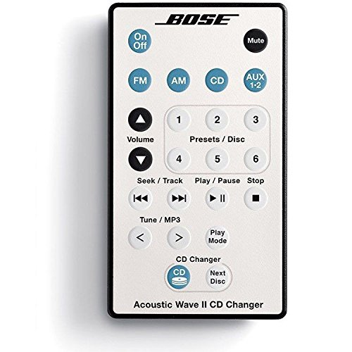 bose 42697 bose acoustic wave music system ii with 5 cd changer remote white for sale cheap. Black Bedroom Furniture Sets. Home Design Ideas