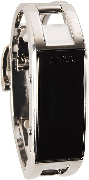 14d107a849 bluetooth 腕時計スマートウォッチ ブレスレット ハンズフリー通話 着信通知/アラーム/カレンダー IOS/android対応 レディース  シルバー